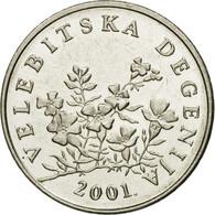 Monnaie, Croatie, 50 Lipa, 2001, TTB, Nickel Plated Steel, KM:8 - Croatie