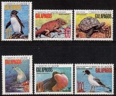 Ecuador MiNr. 2207/12 ** Naturschutz: Fauna Der Galapagosinseln - Ecuador
