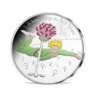 France 2016 : 50€ Commémorative 'le Petit Prince Et La Rose' (dans Sa Cartelette De La MDP) - DISPONIBLE - Francia