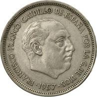 Monnaie, Espagne, Caudillo And Regent, 25 Pesetas, 1959, TTB, Copper-nickel - 25 Pesetas