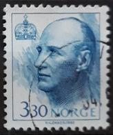 NORUEGA 1992 King Harald. USADO - USED. - Gebraucht