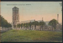 °°° 11992 - UK - TEMPLE CHURCH , LEANING TOWER , BRISTOL °°° - Bristol