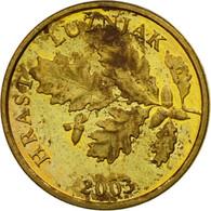 Monnaie, Croatie, 5 Lipa, 2003, TTB, Brass Plated Steel, KM:5 - Croatie