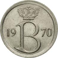 Monnaie, Belgique, 25 Centimes, 1970, Bruxelles, TTB, Copper-nickel, KM:154.1 - 02. 25 Centimes