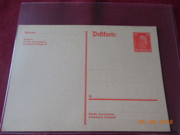 Carte Entier Postal D Allemagne - Deutschland