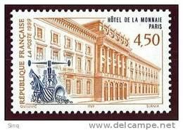N° 3252  Année 1999, Hôtel De La Monnaie, Faciale 0,69 € - France