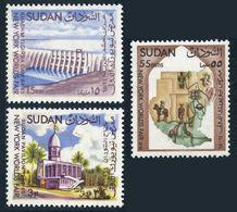 Sudan 167-169,MNH.Michel 200-202. Khashm El Girba Dam,Pavilion,Map.NYC Fair-1964. - Universal Expositions