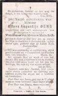 Heist-op-den- Berg, Heyst Op Den Berg, 1917, Boisschot, Booischot, Alfons Dens, Bax - Images Religieuses