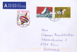 Kreisel Spielzeug Cervin Reiter Dressur Reiten - Switzerland