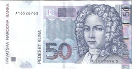 CROATIE      50 KUNA      2012      P. 40b - Croacia