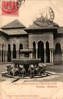 GRANADA - Alhambra - Fuente Y Templete Levante En El Patio De Los Leones - Granada