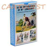 54 Cartes De Tarot GRAND JEU DE SOCIETE ET PRATIQUES SECRETES Crée En 1845 Par Mlle LE NORMAND GRIMAUD - Maps