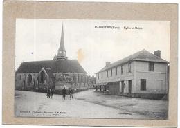 HARCOURT - 27 - Eglise Et Mairie - DELC1 - - Harcourt