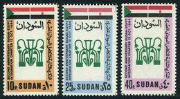 Sudan 341-343,MNH.Michel 376-378. Sudan-Egypt Integration Charter,2nd Ann.1985. - Sudan (1954-...)