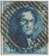 "COB N° 4 ""Médaillon"" Filigrane ""LL"" Encadré. - 1849-1850 Médaillons (3/5)"