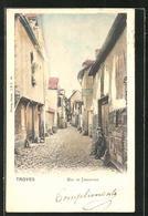 CPA Troyes, Rue De Jargondis - Troyes