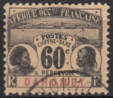 Taxe N° 7 - O - - Dahomey (1899-1944)