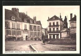 CPA Montbard, Statue Et Maison De Buffon - Montbard