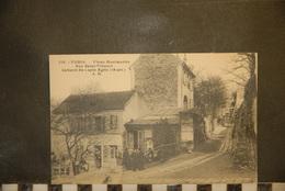 """CP, 75, Paris - Montmartre : Le Cabaret Du """" Lapin Agile """" Rue Des Saules - Pubs, Hotels, Restaurants"""