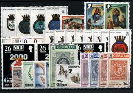 3685-Gibraltar Nº 473/6, 480/2, 488/92, 497/508, 513/18 - Gibilterra