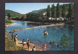 CPSM 30 - BESSEGES - La Plage Et Le Camping Municipal - TB PLAN ANIMATION 1969 - Bessèges