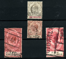 3677-Gibraltar Nº 52, 83, 86, 98 - Gibraltar