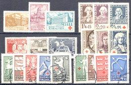 Finlande - 1932 à 1943 Dont 5 Séries Croix-Rouge - Finlande