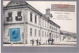 SERBIA Vršac Škola Serb.- Staats- Lehrer- Präparandie Ca 1905 OLD POSTCARD 2 Scans - Serbien