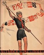 Rare Calendrier Scout De France 1952 Dessins De Joubert - Calendars
