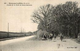 MAISONS LAFFITTE ENTREE DE LA FORET DE SAINT GERMAIN - Maisons-Laffitte