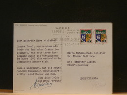 79/307 CP  REUNION - Brieven En Documenten