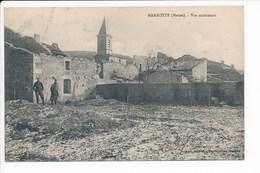 Carte De Marbotte  ( Ruines De La Grande Guerre ) ( Recto Verso ) - Altri Comuni