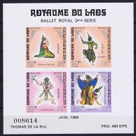 LAOS : 1969 Block Nr 48 MNH/**/postfrisch/neuf - Laos