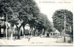 N°64634 -cpa Charleville -cours D'Orléans- - Charleville