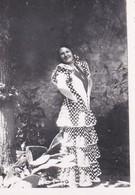 MINI-PHOTO--ESPAGNE--danseuse Robe--voir 2 Scans - Photographie