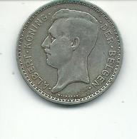 20 Frs    1933 Fl Argent Pos B - 11. 20 Francs & 4 Belgas