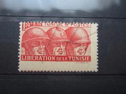 VEND BEAU TIMBRE DE TUNISIE N° 249 , PIQUAGE DECALE , XX !!! - Tunisie (1888-1955)