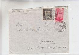 Italie - Libye - Lettre De 1941 ° - Oblit Poste Militaire - Exp Vers Firenze - Bateaux - Libya