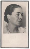 Faire Part Décès PAULINE HUBERT Thuillies 1885 Ravenbruck 1943 Prisonnière Politique Résistance Guerre RANCE - Décès