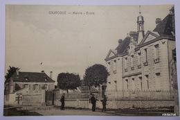 COURCOUE-Mairie-Ecole - Francia