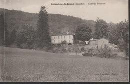 18 / 9 / 138  - COLOMBIER  LE  JEUNE  ( 07 )  VUE  GÉNÉRALE  &. CHÂTEAU  DESTEZET -  CPA  &  CPSM - France
