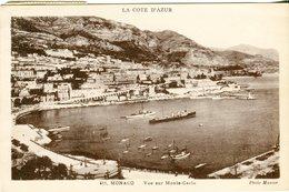 Monaco. Vue Sur Monte Carlo -Lot.2290 - Monte-Carlo