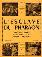 Dossier De Presse Cinéma.Cosmopolis Films. Affichette L'Esclave Du Pharaon. - Cinema Advertisement