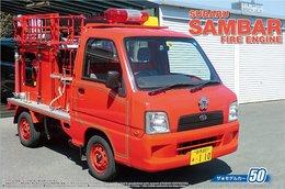 Subaru Sambar Fire Engine ( 1/24 Aoshima ) - Cars