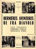 Dossier De Presse Cinéma.Cosmopolis Films. Affichette Dernières Aventures De Fra Diavolo. Ugo Tognazzi. - Cinema Advertisement