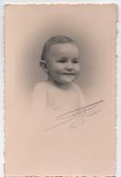 Photographie Ancienne / Tirage Papier Fort/ Tête De Bébé/ Bignon / GISORS/ Eure/ Doucet/ Vers 1930-1950    PHOTN382 - Persone Identificate