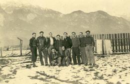Photo D'un Groupe STO En Autriche , Innsbrück . Aucun Nom Au Dos . - Krieg, Militär