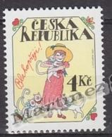 Czech Republic - Tcheque 1997 Yvert 138 Greetings Stamps -  MNH - República Checa