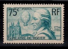 YV 313 Pilatre De Rozier N** Cote 45 Eur - Neufs