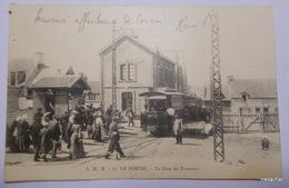 LE PORTEL-La Gare Du Tramway-Précurseur - Le Portel